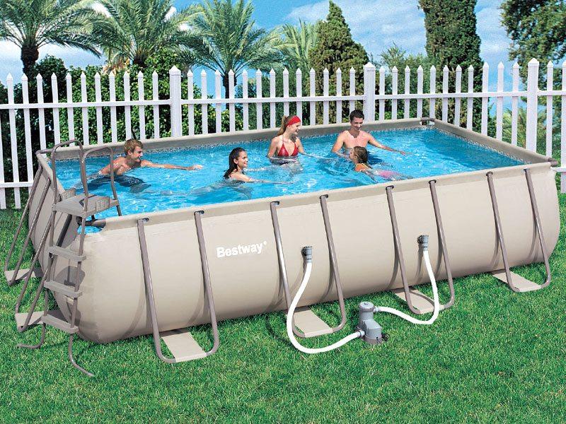 Какой все таки лучше приобрести бассейн - надувной или каркасный?