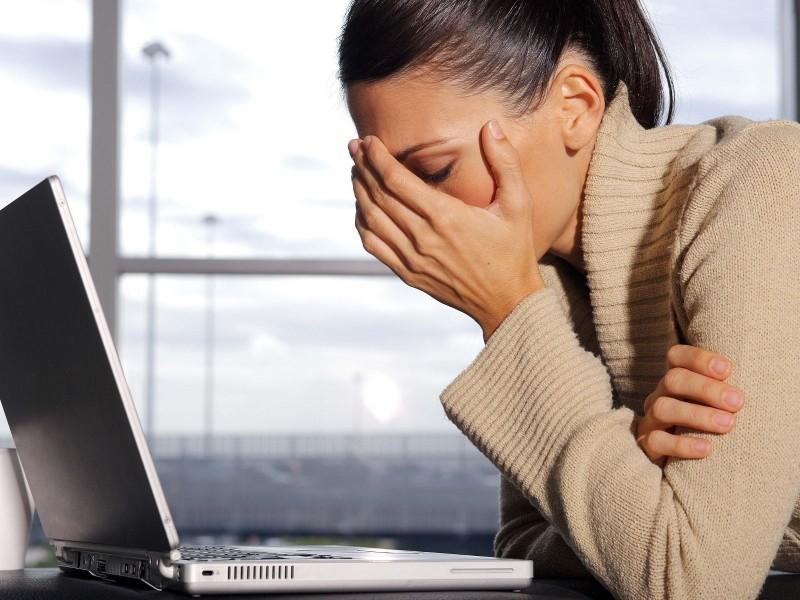 Как свести к минимуму негативное влияние компьютера для женщины?