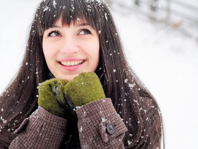 Правильный уход за волосами в зимнее время