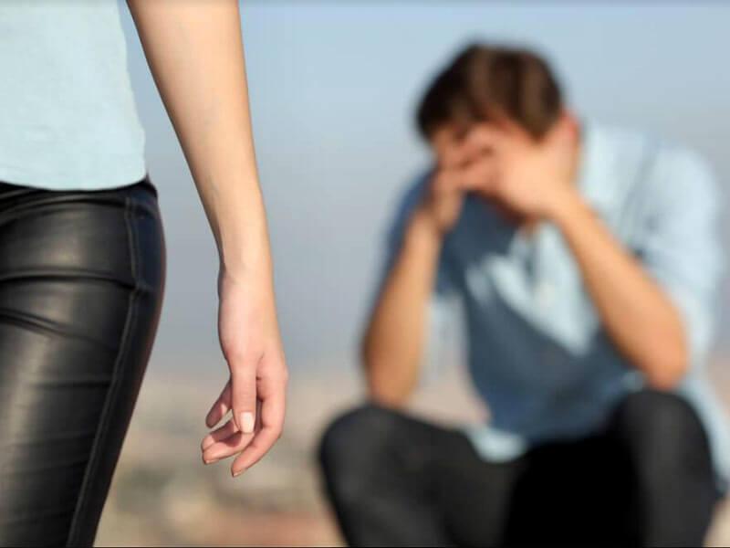 Что сказать парню при расставании?